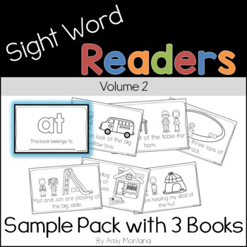 Sight Word Readers Volume 2 {Sample Pack with 3 Books}