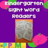 Sight Word Readers for Kindergarten
