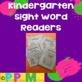 Sight Word Readers for Kindergarten