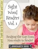 Sight Word Readers Volume 1