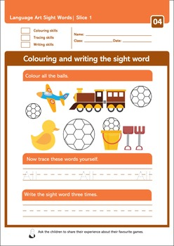 Sight Word Reading