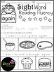 Sight Word Reading Fluency 1st Grade
