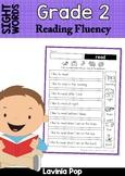 Sight Word Reading Fluency: Grade 2 Sight Words