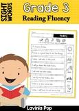 Sight Word Reading Fluency: Grade 3 Sight Words