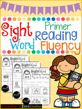Sight Word Reading Fluency Primer