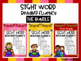 Sight Word Reading Fluency THE BUNDLE