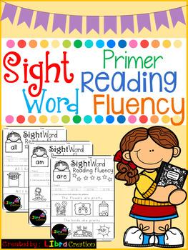 Sight Word Reading Fluency, The Bundle