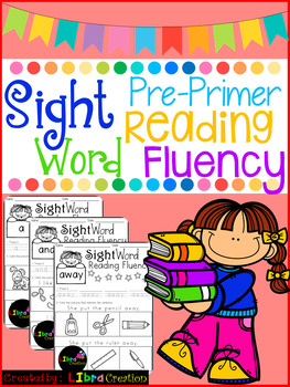 Sight Word Reading Fluency, The Bundle