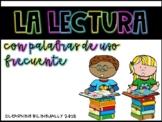 Sight Word Reading Fluency in Spanish