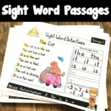 Distance Learning Sight Word Reading Passages