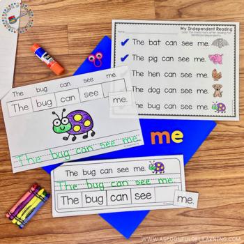 Sight Word Reading, Writing, and Sentence Scrambles BUNDLE