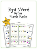 Sight Word Rebus Puzzle Packs