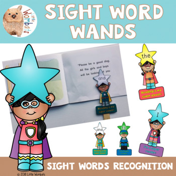 Sight Word Recognition / Wands