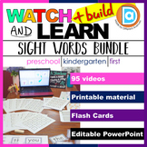 RTI | Kindergarten & First Grade Sight Word Fluency BUNDLE