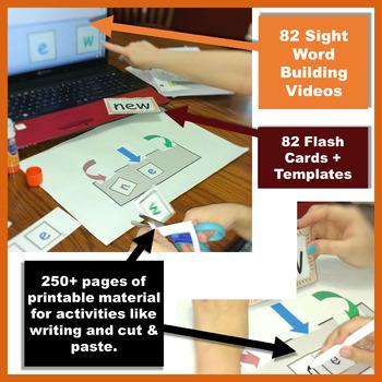 Sight Word Fluency Helper Pack, Level 2   2nd Grade Word Building