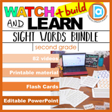 Sight Word Multimodal Learning Bundle | Differentiation &