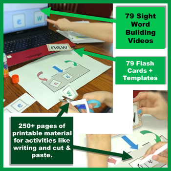 Sight Word Multimodal Learning Bundle   Differentiation & Intervention   Third