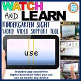 RTI | Kindergarten & First Grade Sight Word Fluency Resource | Use