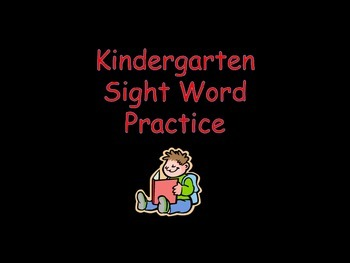 Sight Word Review