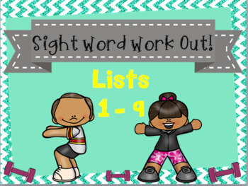 Sight Word Activities Bundle - Frys