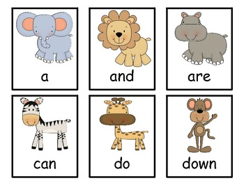 Sight Word Review Game