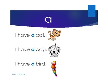 Sight Word Review - Set A