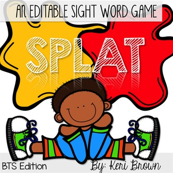 Sight Word Review - Splat!