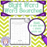 Sight Word Word Searches- Fountas & Pinnell Sight Words
