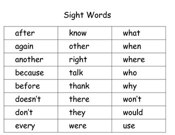 Sight Word Riddles for Partner Work, Individual Work and Scoot ~ Free!