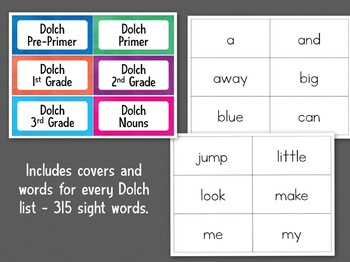 Sight Words Ring Books