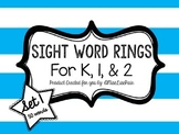 /Sight Word Rings: Set 1/