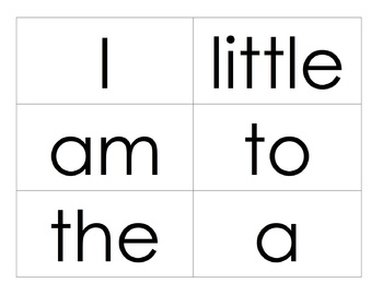 Sight Word Rings for Scott Foresman Reading Street
