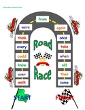 Sight Word Road Race Game (Dolch First Grade Sight Words)