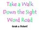 Sight Word Road