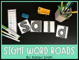 Sight Word Roads