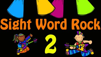 Sight Word Rock 2 Video (Fry's Sight Words 11-20)