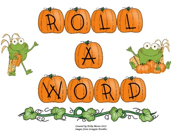 Sight Word  Roll-A-Word Game
