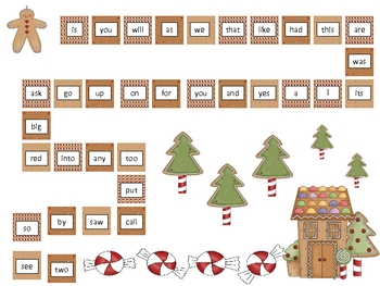 Sight Word Roll Game Board - Programmable Template