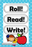 Sight Word Roll Read Write 1