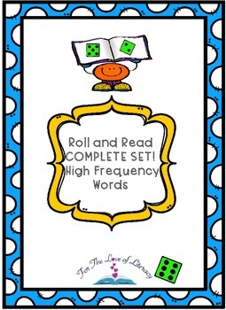 Sight Word: Roll and Read- Complete Set!