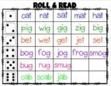 Sight Word Roll and Read Template