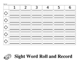 Sight Word Roll and Record