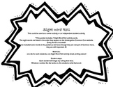 Sight Word Roll complete packet