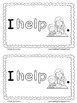 Sight Word Roll 'n' Rainbow-Write REBUS Reader {I HELP...}