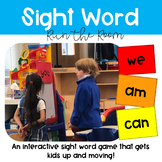Sight Word Run the Room - Movement Game