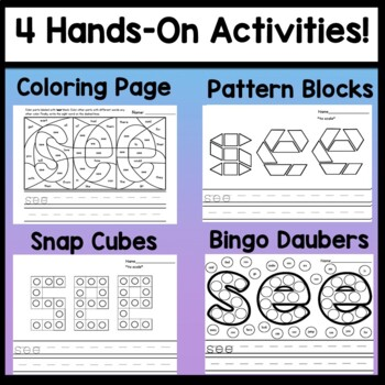 Sight Word SEE {2 Sight Word Books and 4 Worksheets!}