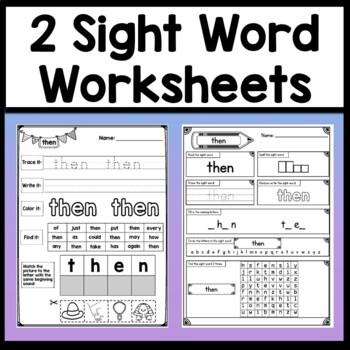 Sight Word SEE Activities {6 Literacy Center Activities!}