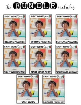 Sight Word SEIZE --- Sight Word Savvy