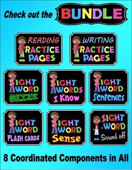 Sight Word SEIZE Freebie Practice Worksheet --- Sight Word Savvy