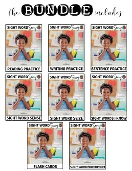 Sight Word SENSE --- Sight Word Savvy